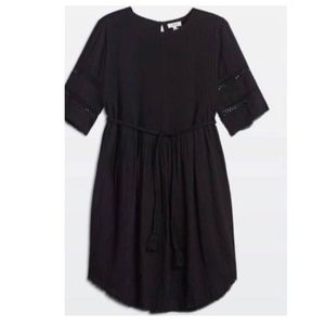 Aritzia Wilfred Black Sonore Dress